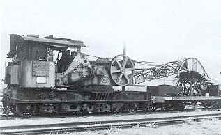 Steam Crane 23 in travelling mode